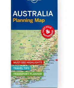Australia Planning Map, Edition - 1 by Lonely Planet