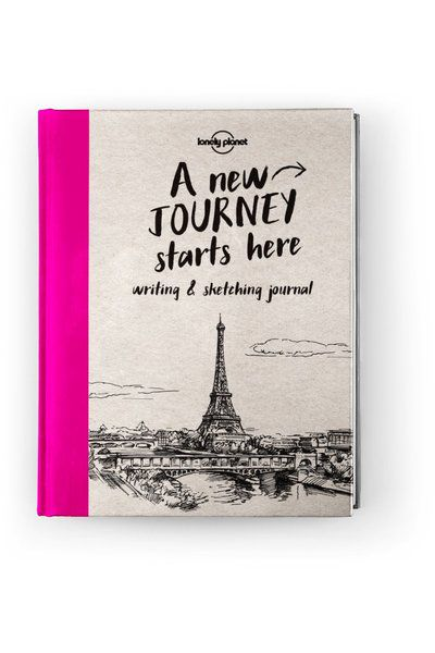 Lonely Planet Writing & Sketching Journal, Edition - 1 by Lonely Planet
