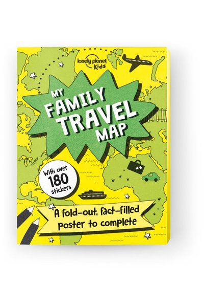My Family Travel Map, Edition - 1 by Lonely Planet
