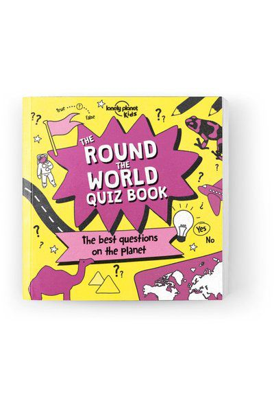 The Round the World Quiz Book [AU/UK], Edition - 1 by Lonely Planet