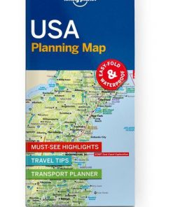 USA Planning Map, Edition - 1 by Lonely Planet