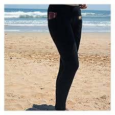 Clever Travel Companion Women's Leggings with Secret Pockets