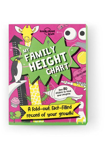 My Family Height Chart [AU/UK], Edition - 1 by Lonely Planet