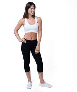 Pact Women's Stretch Cropped Leggings | Made with Organic Cotton