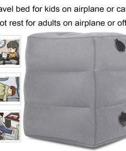 KAILEFU Travel Foot Rest Pillow