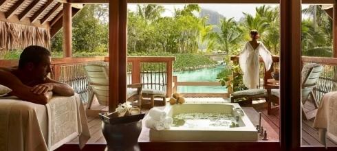 Luxury Overwater Four Seasons & Taha'a