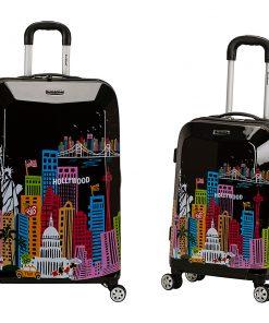 Rockland Luggage Traveler 2 Piece Hardside Luggage Set America - Rockland Luggage Luggage Sets