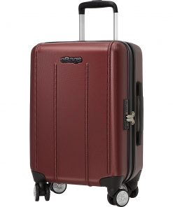 eBags EXO 2.0 Hardside Spinner Carry-On Metallic Red - eBags Hardside Carry-On