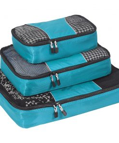 eBags Packing Cubes - 3pc Set - Aquamarine