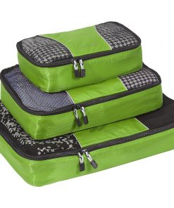 eBags Packing Cubes - 3pc Set - Grasshopper