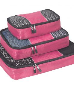 eBags Packing Cubes - 3pc Set - Peony