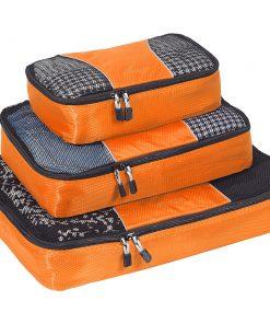 eBags Packing Cubes - 3pc Set - Tangerine