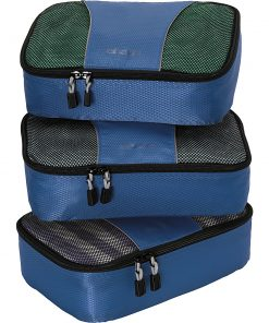 eBags Small Packing Cubes - 3pc Set - Denim