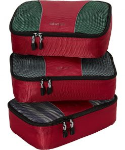 eBags Small Packing Cubes - 3pc Set - Raspberry