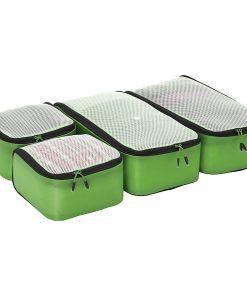 eBags Ultralight Packing Cubes - Getaway 4pc Set Green - eBags Travel Organizers