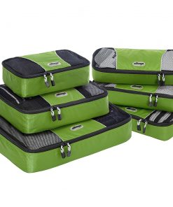 eBags Value Set: Packing Cubes + Slim Packing Cubes Grasshopper - eBags Travel Organizers