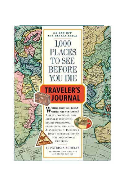 1000 Places to See Before You Die Journal