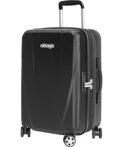 "eBags Allura 22"" Expandable Hardside Carry-On Black - eBags Hardside Carry-On"