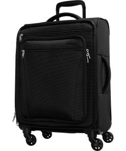 eBags eTech 3.0 Softside Spinner Carry-On Black - eBags Softside Carry-On