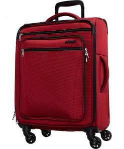 eBags eTech 3.0 Softside Spinner Carry-On Crimson Red - eBags Softside Carry-On
