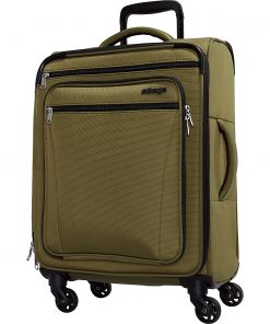 eBags eTech 3.0 Softside Spinner Carry-On Olive Green - eBags Softside Carry-On
