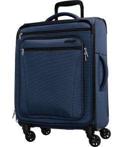 eBags eTech 3.0 Softside Spinner Carry-On Sapphire Blue - eBags Softside Carry-On