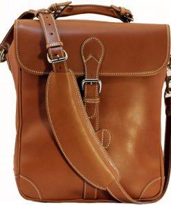 J. Holland Co. three Bottle Saddle Leather Wine Bag - Serve & Preserve Accessories