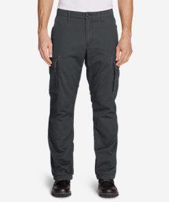 Men's Flannel-Lined Cargo Pants