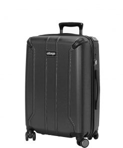 eBags eTech 3.0 Hardside Carry-On Spinner Black - eBags Hardside Carry-On