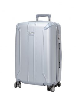 eBags eTech 3.0 Hardside Carry-On Spinner Silver - eBags Hardside Carry-On