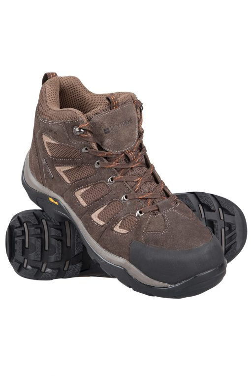 Field Mens Waterproof Vibram Boots - Brown