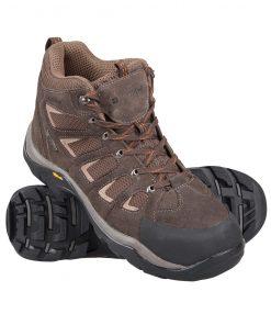 Field Waterproof Mens Vibram Boots - Brown