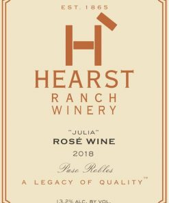 Hearst Ranch 2018 Julia Rose - Rosé Rosé Wine