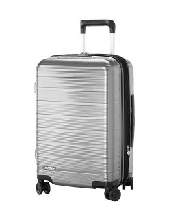 "eBags Fortis 22"" Hardside Spinner Carry-On Grey - eBags Hardside Carry-On"