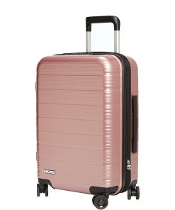 "eBags Fortis 22"" Hardside Spinner Carry-On Rose Gold - eBags Hardside Carry-On"