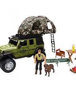 Cabela's Jeep with Roof-Rack Tent Playset
