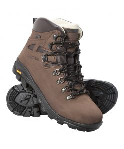 Excalibur Womens Vibram Waterproof Boots - Brown