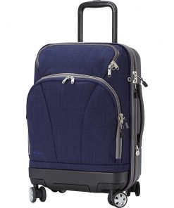 eBags TLS Hybrid Spinner Carry-on Brushed Indigo - eBags Hardside Carry-On