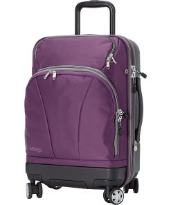 eBags TLS Hybrid Spinner Carry-on Eggplant - eBags Hardside Carry-On