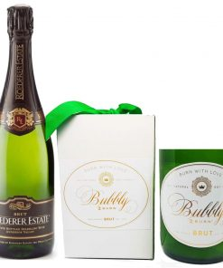 93 Point Roederer Brut & Champagne Candle - Wine Collection Gift
