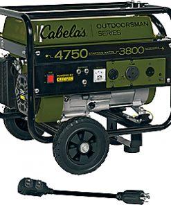 Cabela's Outdoorsman 3800/4750-Watt Generator by Champion