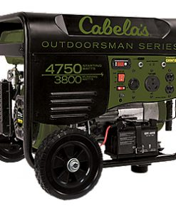 Cabela's Outdoorsman 3800/4750-Watt Remote Start Generator