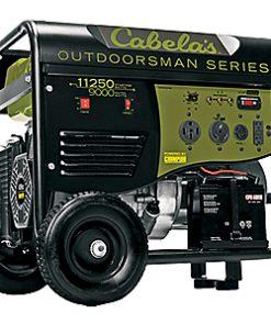Cabela's Outdoorsman 9000/11250-Watt Remote-Start Generator by Champion