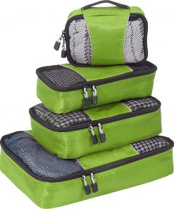 eBags Packing Cubes - 4pc Small/Med Set Grasshopper - eBags Travel Organizers