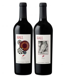 95+ Point HALL Napa Valley Trophy Reds Gift Set - Wine Collection Gift
