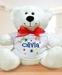 A Star is Born Plush Personalized Teddy Bear
