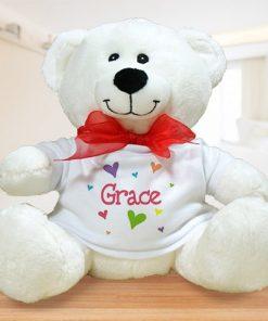 All Heart Plush Personalized Teddy Bear