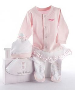 Ballerina Personalized Baby Outfit Set