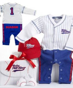 Baseball Personalized Baby Outfit Set