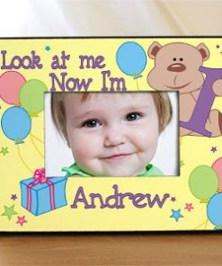 Children's Personalized Birthday Frame - Look at Me#44; 1#44;2#44;3